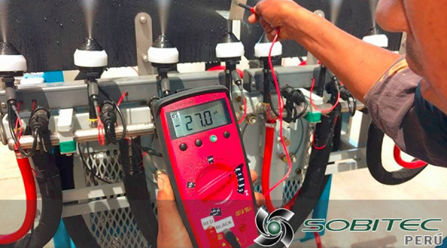 Tecnología de pulverización electrostática ESS MaxCharge