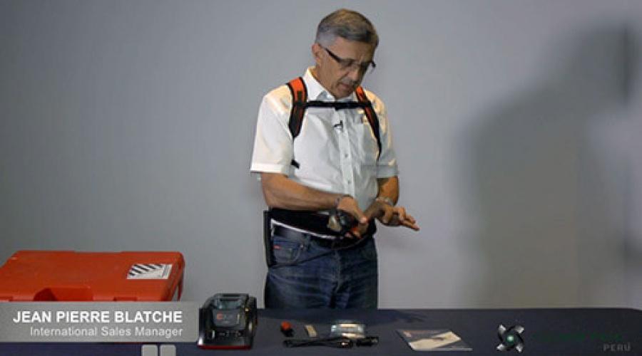 Uso y programación de la tijera de poda eléctrica INFACO